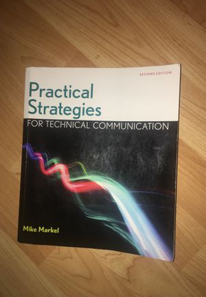 Practical Strategies for Technical Communication for Sale in Nederland, TX