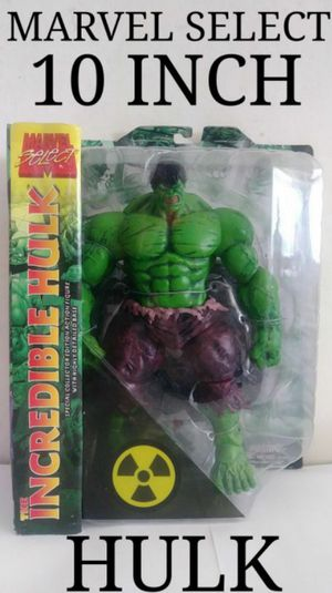 Marvel Select 10 Inch Hulk Collectible Action Figure for Sale in Chicago, IL