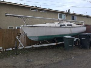 22' 1979 Chrysler Sail boat with trailer for Sale in San Diego, CA