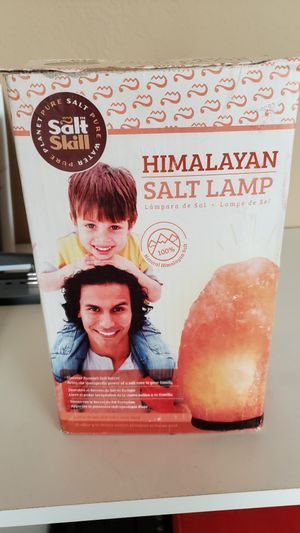 New Himalayan Salt Lamp for Sale in Phoenix, AZ
