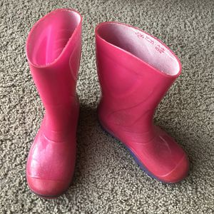 Skeeper pink/purple rain boots for Sale in Glenshaw, PA