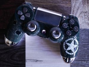 Army - DUAL SHOCK 4 - Wireless Bluetooth Custom PlayStation Controller - PS4 / PS3 / PC for Sale in Riverside, CA