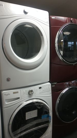 Brand New whirlpool front load set washer and dryer for Sale in Randallstown, MD