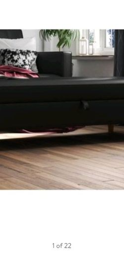 Storage Ottoman Coffee Table Black for Sale in Lancaster,  OH