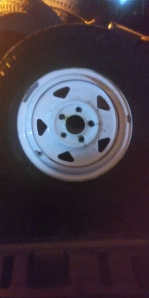 Trailer rims and tires for Sale in Austin, TX