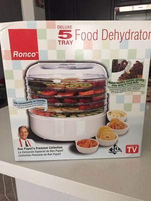 Ronco 5- tray electric food dehydrator for Sale in North Highlands, CA