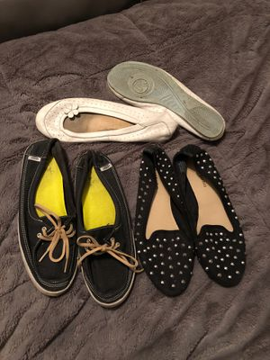 FREE women's summer flats size 8 for Sale in Aloha, OR
