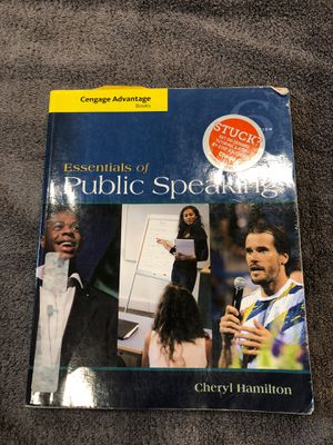 Essentials of Public Speaking 6th Edition for Sale in Winsted, CT