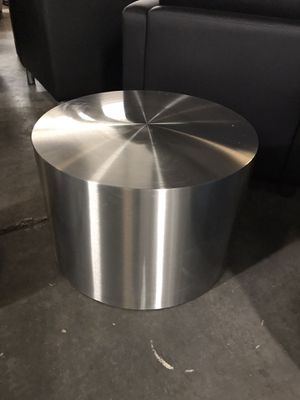 Brushed steel orb accent table for Sale in Lexington, SC
