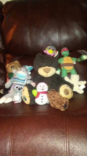 Adorable plush lot. 🐻🦁🐯🐵🐸 for Sale in Phoenix, AZ