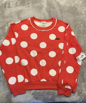 Vans Minnie Mousse Polka dot Sweater ..Size Medium for Sale in Anaheim, CA