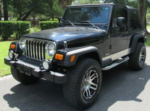 2004 Jeep Wrangler unlimited for Sale in Tampa, FL