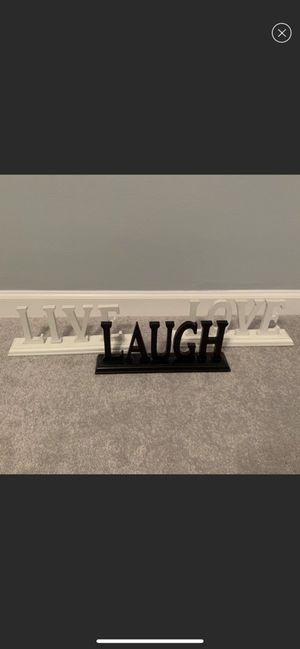 Live*Laugh*Love home decor for Sale in Warren, MI