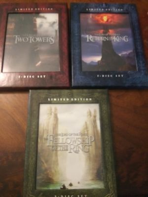 Lord of the rings set for Sale in Farmville, VA