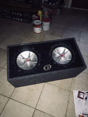 Kicker Speakers 12s for Sale in Virginia Beach, VA