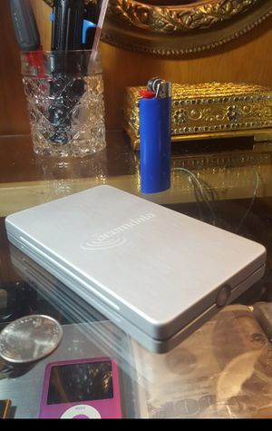 Portable Hard Drive - Storing Pics, Home-made Movies, Music, Files up to 80GB [Silver] for Sale in Portland, OR