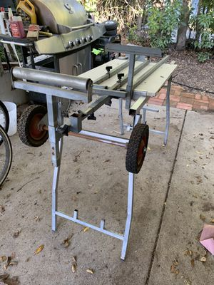 Chop saw table with extensions for Sale in Spring Valley, CA
