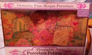 Collectable Poseable Porcelain Petites( Not A Toy) for Sale in Garland, TX