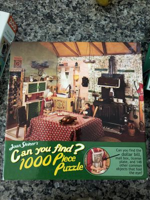 Can you find 1000 piece jigsaw puzzle Joan Steiner by Ceaco for Sale in Murrieta, CA