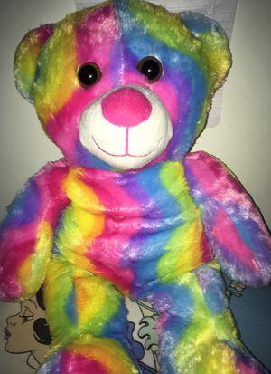 Rainbow teddy bear for Sale in Norwalk, CA