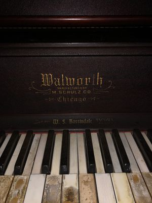 M. Shulz upright antique piano for Sale in Tacoma, WA