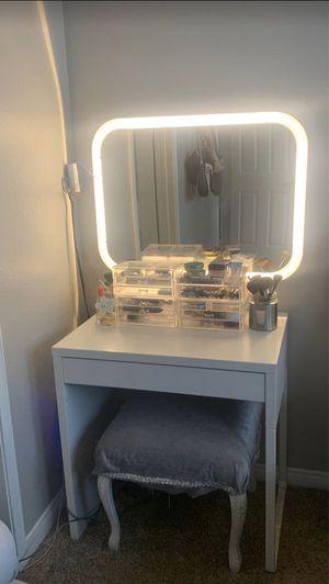 Makeup Vanity/Mirror (makeup not included) for Sale in Riverside, CA