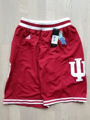BRAND NEW Men's Adidas Indiana Hoosiers Basketball Shorts (Small) for Sale in Dallas, TX