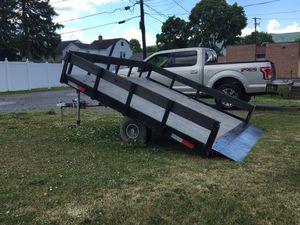 Tilt trailer. for Sale in Williamsport, PA
