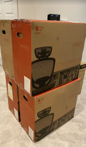 Brand New IN BOX Staples Hyken Mesh Office Chair for Sale in Queens, NY
