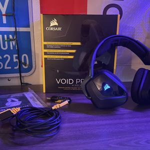 Corsair Void Pro Wireless Headset for Sale in Apple Valley, CA