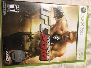 UFC 2010 XBOX 360 VIDEO GAME for Sale in Monroe, WA