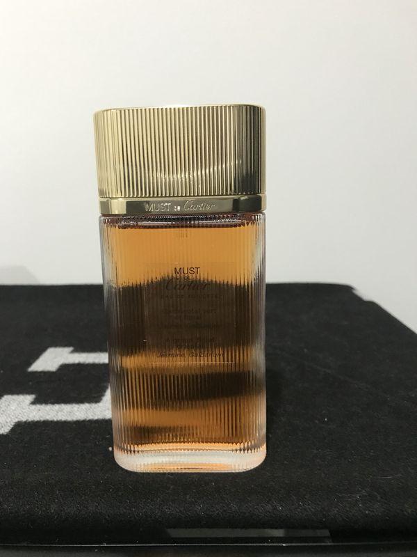Cartier Must EDT spray 3.3 Tester new