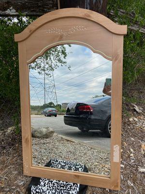 Beautiful wall mirror (46/28inch) for Sale in San Antonio, TX