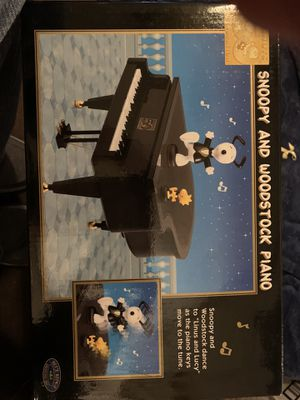 Snoopy and Woodstock piano for Sale in PA, US