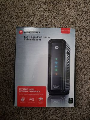 Motorola SB6121 Cable Modem for Sale in Beaverton, OR