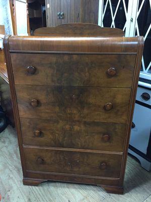 "Nice hardwood Waterfall Dresser,Dovetail 46 1/2""tall 32"" long 18"" deep,good condition,sturdy for Sale in Waynesboro, VA"