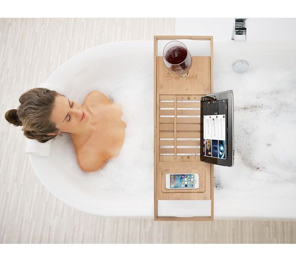 Almost brand new. Hot tub/bedside tray