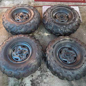 Tire Nuebas Con Rines Nuevos Las Dos Delante Y Las Dos D Atras Las Cuatro Nuevas ,el Precio Es Pq Se Las Lleven for Sale in Lehigh Acres, FL
