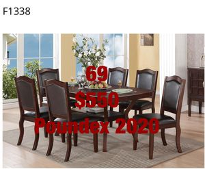 Dining Sets. Assembly Required. Assembly Not Included. Free Delivery for Sale in Whittier, CA
