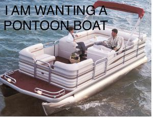 Wanted: pontoon boat, minitoon, tritoon for Sale in Cedar Hill, TX