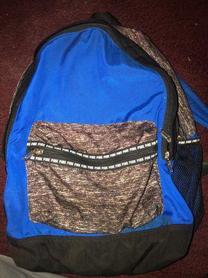 Blue Victoria secret pink backpack lots of pockets!! for Sale in Kyle, TX