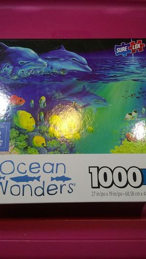 1000 Dolphin jigsaw puzzle for Sale in Mason City, IA