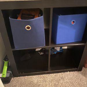 Dark Cube Organizer for Sale in Houston, TX