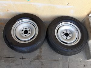 Tires and rims for Chevy or gmc 6 lugs for Sale in Anaheim, CA