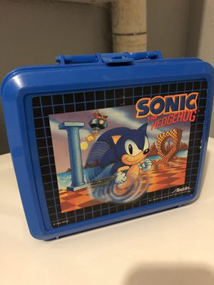 Sonic The Hedgehog lunch box for Sale in Beaverton, OR