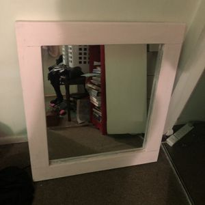 """Pink wall mirror 28"""" for Sale in Alexandria, VA"""