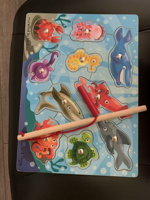 Melissa and Doug fishing game/puzzle for Sale in Pembroke Pines, FL