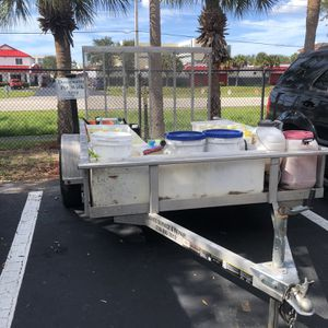 6x8 Aluminum Utility trailer for Sale in Fort Myers, FL