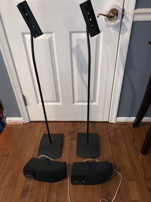 Pair of Bose speakers and stands for Sale in Fairfax Station, VA