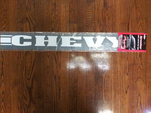 Chevy windshield decal for Sale in Alpharetta, GA